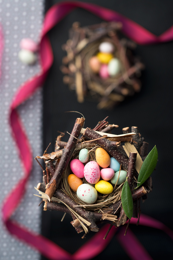 Sugar Easter eggs